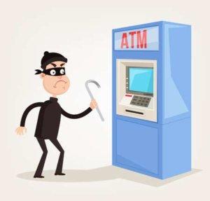 Физические и логические атаки грабителей на банкоматы