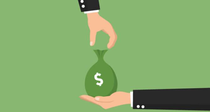 Перевод денег в счет будущей пенсии