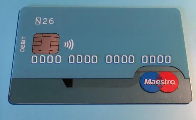 Как выглядит карточный счет
