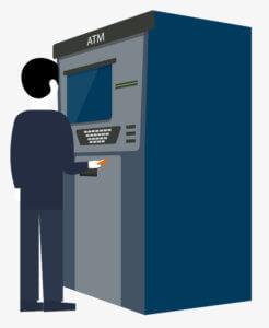 Проверить в терминале или банкомате