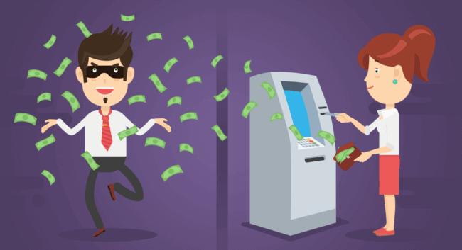 Воровство через банкоматы