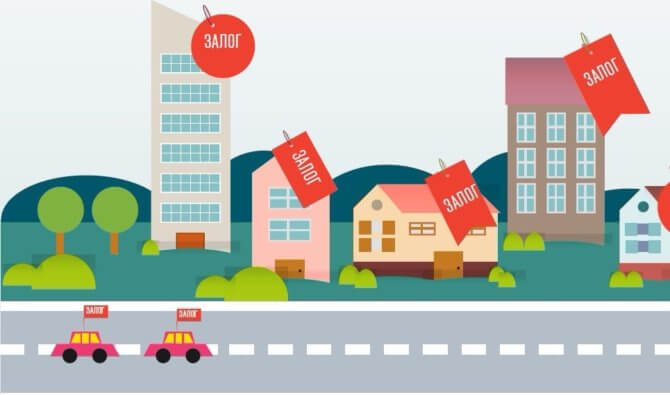 Виды залоговой недвижимости