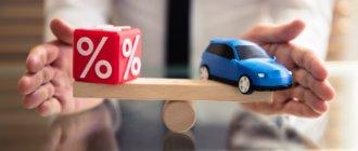 проценты по автокредитам в банках РФ