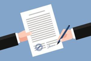 После подписания договора