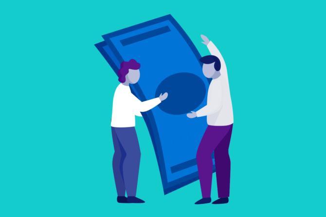 Как снимать заемные средства с карты