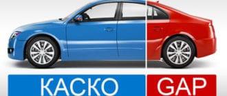 GAP страхование автомобиля