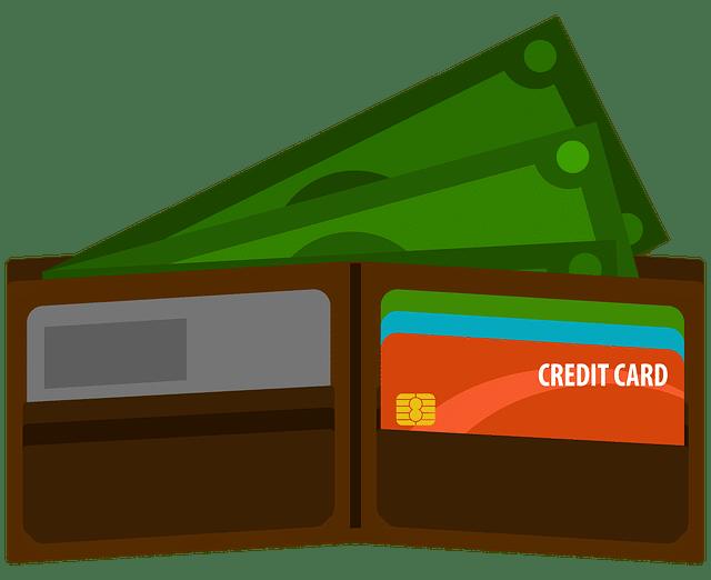 Кредитные карты в бумажнике